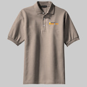 Drink N Learn (Light) Men's Classic Pique Sports Shirt