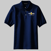 Beersnob Logo (Dark) Men's Classic Pique Sports Shirt