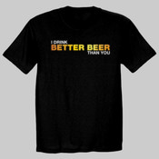 Better Beer (Dark) Fruit of the Loom Heavy Cotton T-Shirt